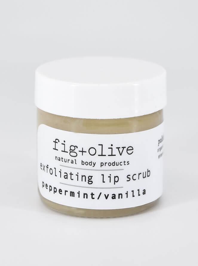 Lip Scrub Peppermint Vanilla