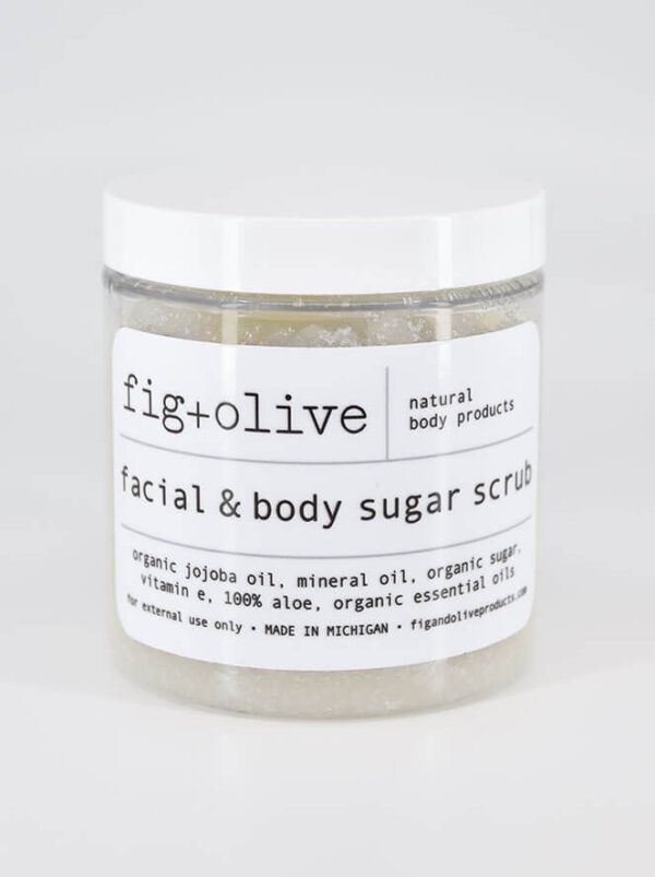 Small Sugar Scrub